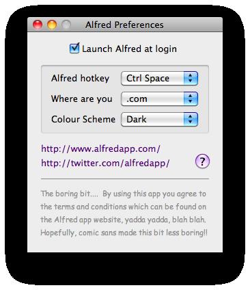 Alfred App Mac