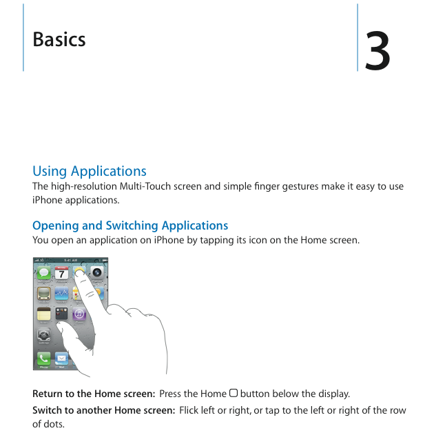 user guide for iphone 4 and ios 4 now online macstories rh macstories net what is a user manual what is a user's guide