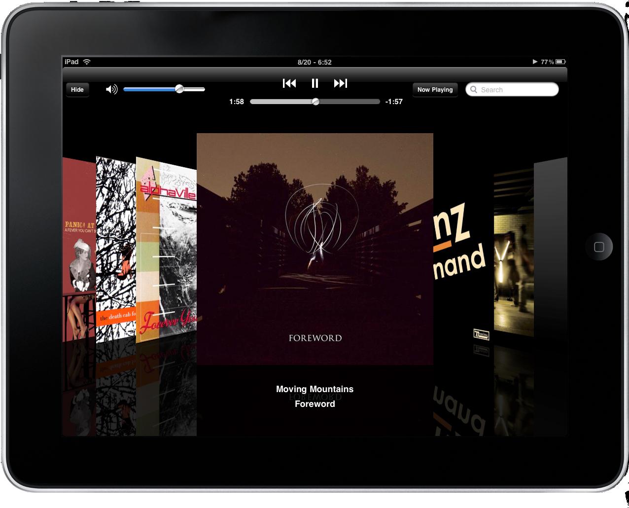 how to delete music albums on ipad mini