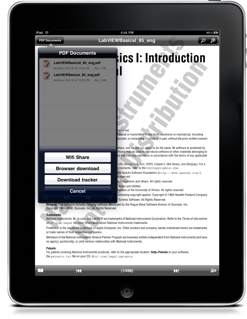 pdf reader for ipad is almost perfect macstories With pdf documents on ipad