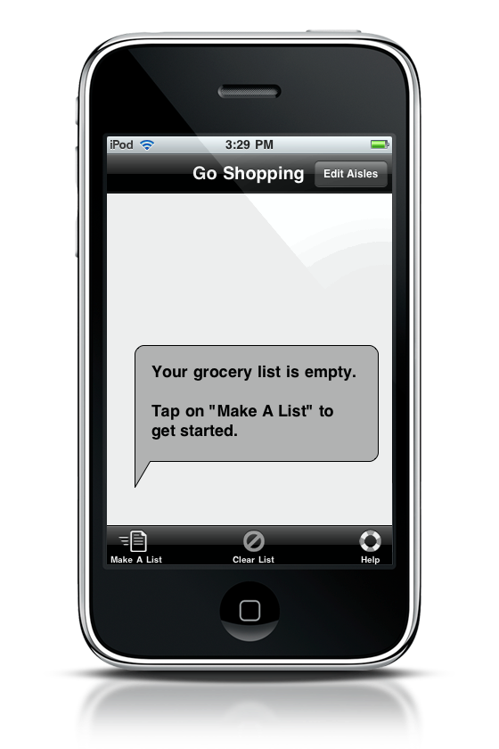 Grocerylist iPhone